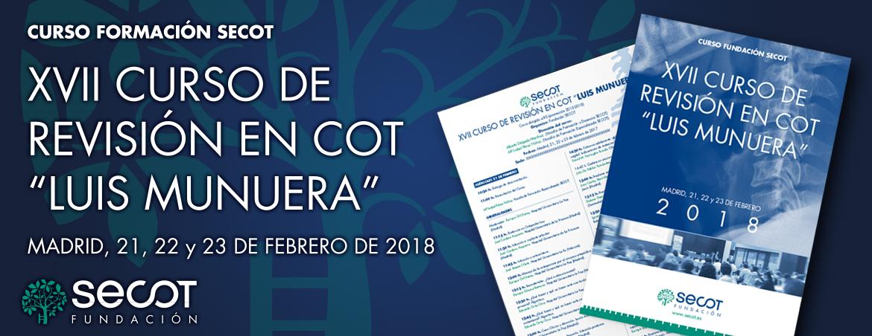 """XVII REVISIÓN EN COT """"LUIS MUNUERA"""""""