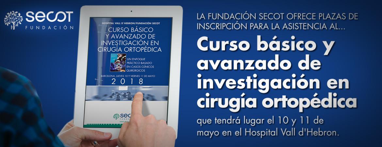 CURSO BÁSICO Y AVANZADO DE INVESTIGACIÓN EN CIRUGÍA ORTOPÉDICA