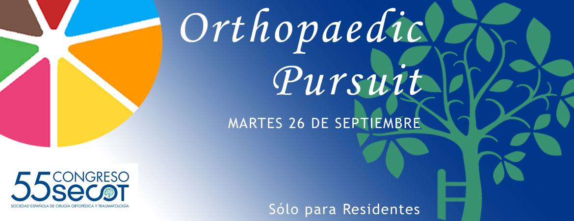 JUEGO: ORTHOPAEDIC PURSUIT 55 CONGRESO SECOT