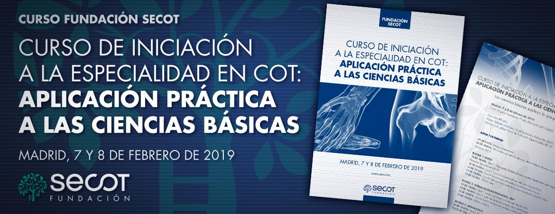 INICIACIÓN A LA ESPECIALIDAD EN COT 2019