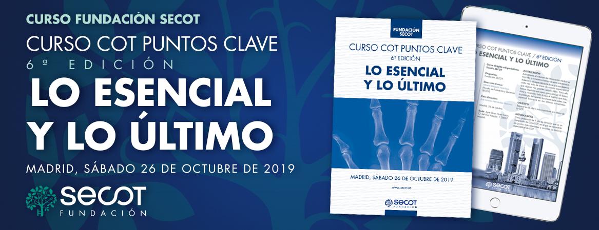 CURSO COT PUNTOS CLAVE LO ESENCIAL Y LO ÚLTIMO 6ª EDICIÓN