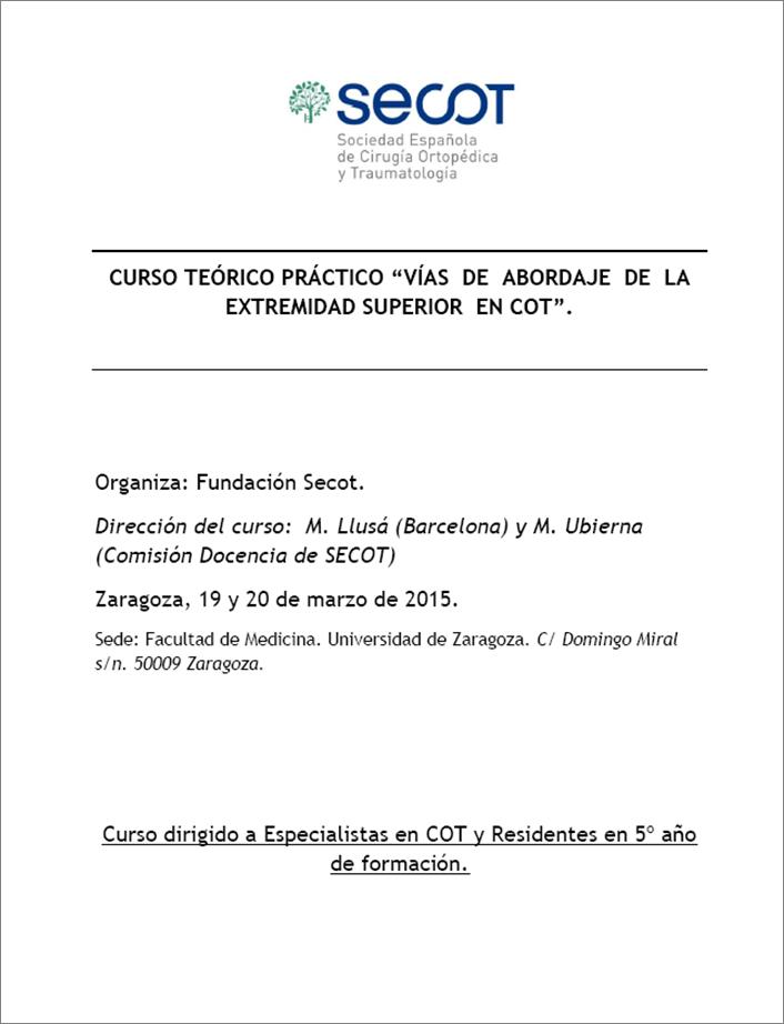 Vías de abordaje-Zaragoza