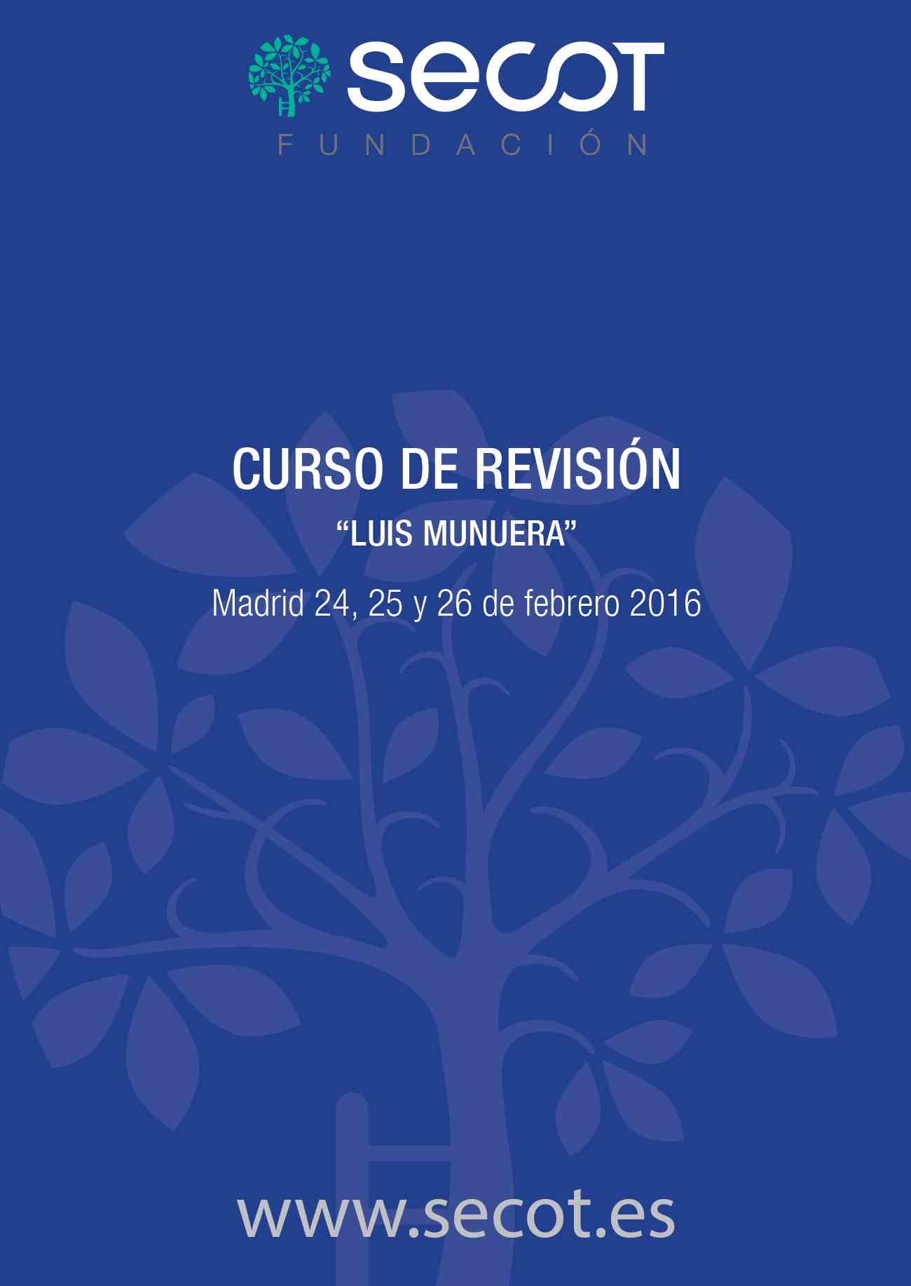 CURSO REVISIÓN LUIS MUNUERA