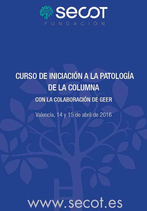 Curso Patología Columna